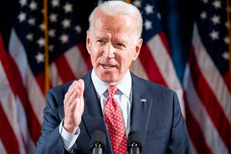 Biden spoke against Turkey`s intervention in the Nagorno-Karabakh  conflict