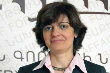 Anna Aghajanyan appointed RA Ambassador to Belgium and Head of  Armenian Delegation to EU
