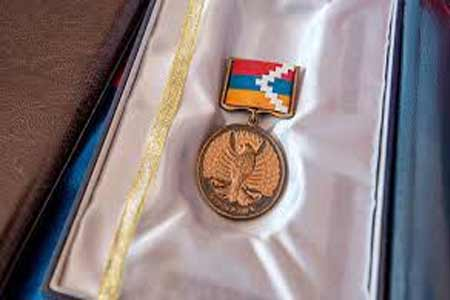 A number of servicemen of Artsakh Defense Army were presented to high  state awards