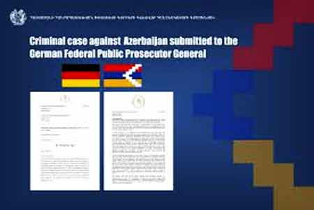 German-Armenian Bar Association calls to file a criminal case against  Azerbaijan for committing war crimes against Artsakh
