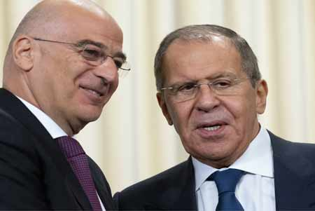 Lavrov and Dendias discussed situation in Karabakh conflict zone