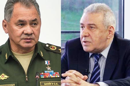 Defense Ministers of Armenia and Russia discussed situation in  Nagorno-Karabakh