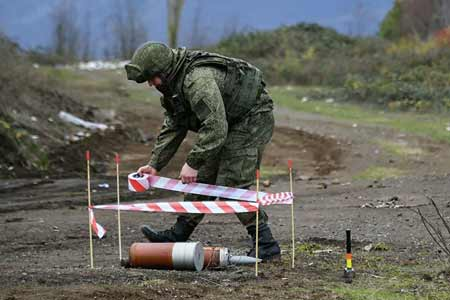 Mine clearance is being carried out in Stepanakert and Askeran region