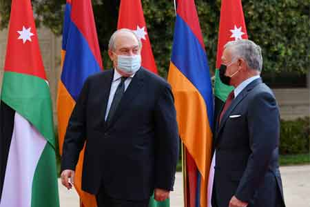 Armen Sargsyan held talks with Abdullah II