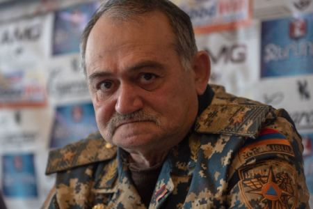 Major General Astvatsatur Petrosyan passed away