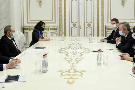 Armenian Prime Minister and Secretary of State to Minister for  Europe and Foreign Affairs of France discussed situation in Artsakh