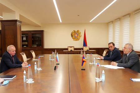 Armenian Defense Minister and Russian Ambassador discussed the  activities of Russian peacekeepers in Karabakh