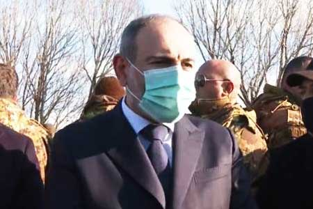 Nikol Pashinyan arrives in Moscow on a working visit