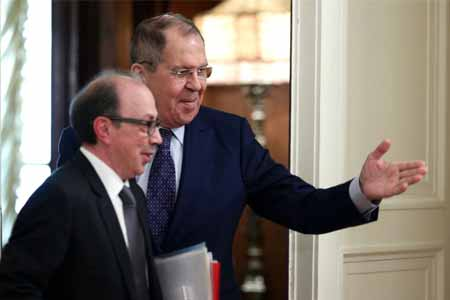 Tete-a-tete meeting of Armenian and Russian Foreign Ministers kicked  off in Yerevan