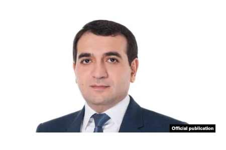 Former Deputy Minister of Health Hovhannes Harutyunyan appointed  Governor of Shirak region