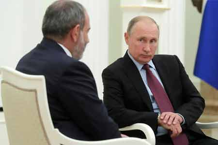Pashinyan: Presence of Russian peacekeepers in Nagorno-Karabakh  becomes the most important factor of stability and security in the  region