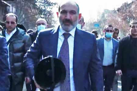 Pashinyan: The right of the people to form power should not be  questioned
