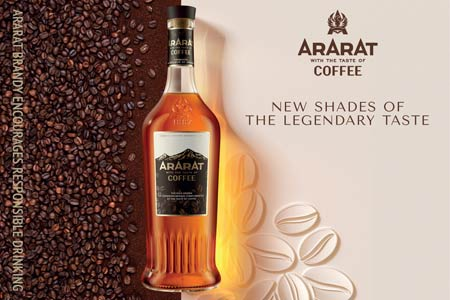 Yerevan Brandy Company presents new taste in the ARARAT Flavors range