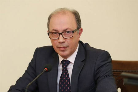 Aivazian: The agenda of Lavrov`s visit to Armenia includes a  discussion of the issue of resuming the peace process on Karabakh