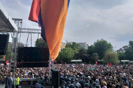 Robert Kocharian promises to build an Armenia that every Armenian  will be proud of